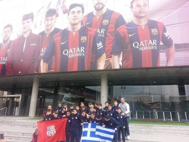 Η OLYMPIAN FC στη Βαρκελώνη