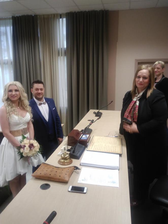 Παντρεύτηκε ο Δημήτρης Τσιμήτρης και η Ελένη Γιαϊζίδου