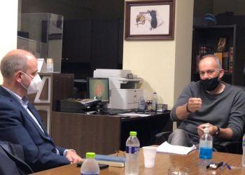 Συνάντηση Φώντα Μπαραλιάκου   Με Τους  Κυνηγετικούς Συλλόγους Κατερίνης Και Αιγινίου