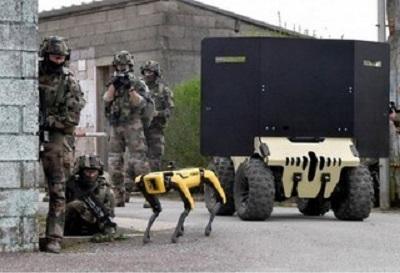Εκπαίδευση Με Ρομπότ Για Τον Γαλλικό Στρατό