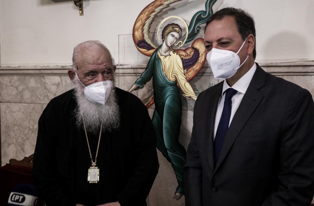 Η ελληνική διατροφή στο επίκεντρο της συνάντησης Αρχιεπισκόπου κ.κ. Ιερωνύμου με τον ΥΠΑΑΤ κ. Σπήλιο Λιβανό