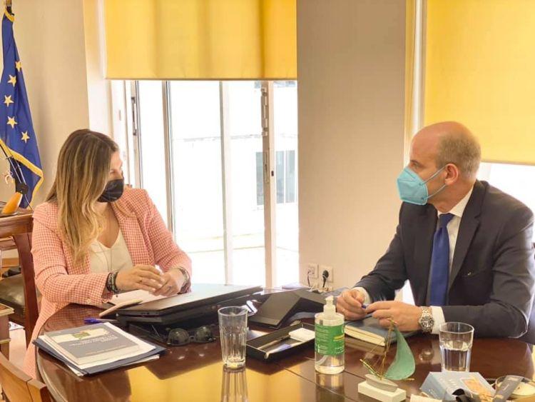 Με την Υφυπουργό Τουρισμού Σοφία Ζαχαράκη