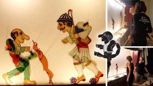 Ο Καραγκιόζης ετοιμάζεται να γιορτάσει το Πάσχα με «Του φτωχού τ' αρνί»