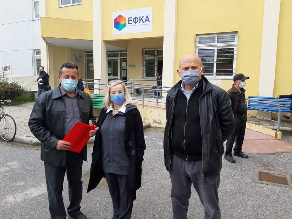 O ΣΥΡΙΖΑ Πιερίας σε δομές υγείας