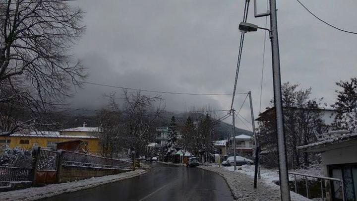 Απριλιάτικο Χιόνι Στα Ορεινά Και Ημιορεινά Του Νομού Θεσσαλονίκης