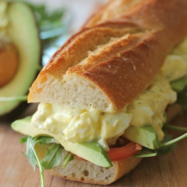Νόστιμο Και Light Σάντουιτς Με Αυγοσαλάτα