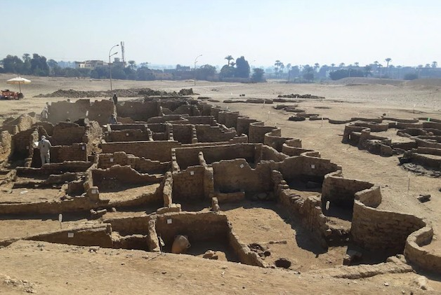 Η Χαμένη «Χρυσή Πόλη» 3.400 Ετών Κοντά Στο Λούξορ