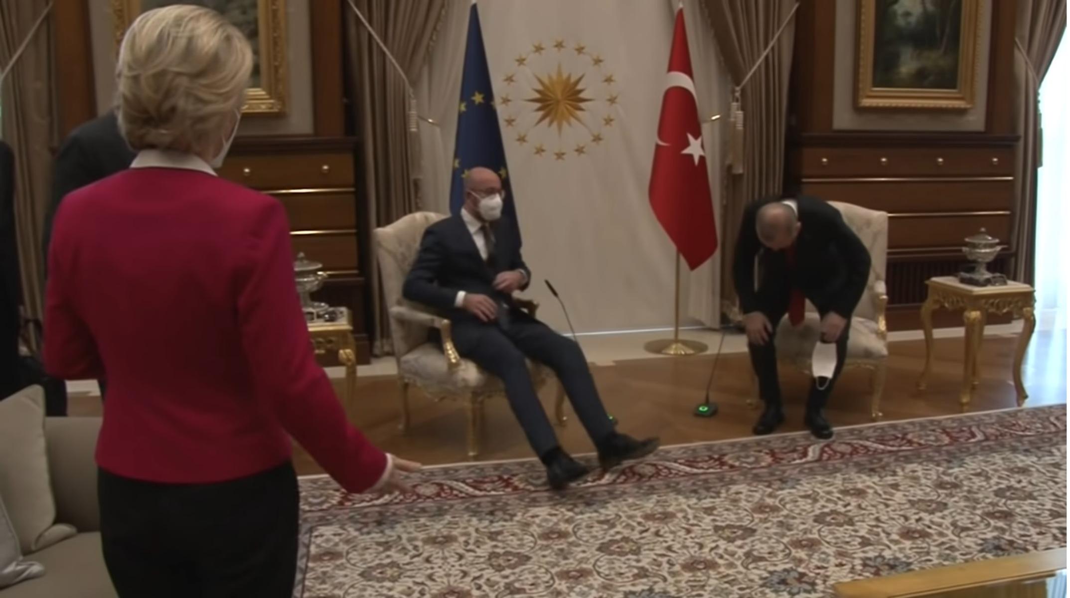 Οργή Στις Βρυξέλλες Για Το Καψόνι Ερντογάν Στη Φον Ντερ Λάιεν