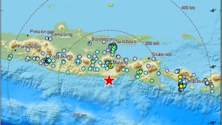 Σεισμός 5,9 Βαθμών Στα Ανοιχτά Της Ιάβας