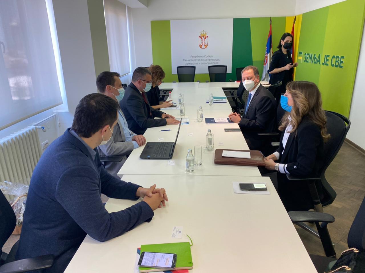 Προώθηση Ελληνικών Αγροτικών Προϊόντων Και Επενδύσεων Στη Σερβία