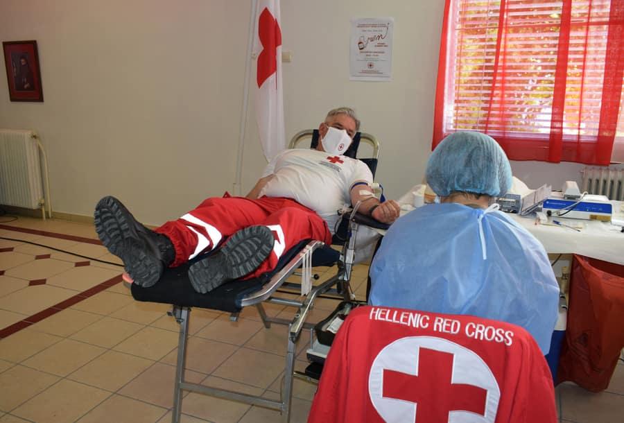 Εθελοντική αιμοδοσία Ε.Ε.Σ. Κατερίνης
