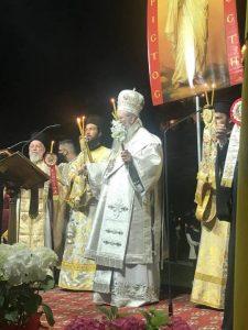 Η Ανάσταση Στον Ιερό Ναό Της Θείας Αναλήψεως