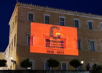 Η είδηση φωτισμού του Κοινοβουλίου έκανε τον γύρο του κόσμου
