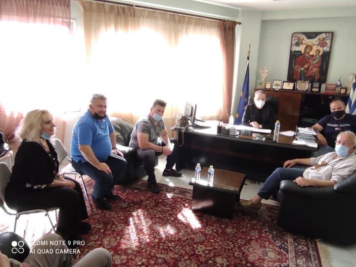 Σε συνάντηση με το Συμβούλιο Καλλιθέας