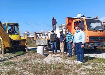 40 νέοι κάδοι απορριμμάτων στην παραλία Κορινού