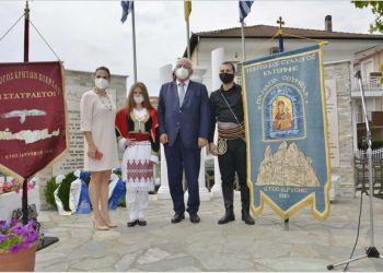 O Σάββας Χιονίδης στην επιμνημόσυνη δέηση του Συλλόγου Κρητών «Οι Σταυραετοί»