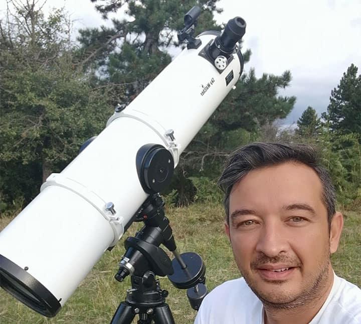 Oi Δορυφόροι Της Spacex Του Elon Musk, Ορατοί Στον Ουρανό Της Κοζάνης
