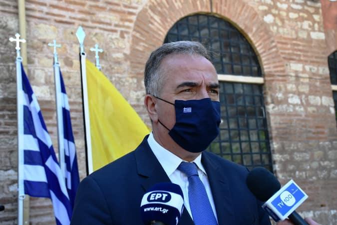 Δήλωση του Υφυπουργού Εσωτερικών (Μακεδονίας – Θράκης) Σταύρου Καλαφάτη
