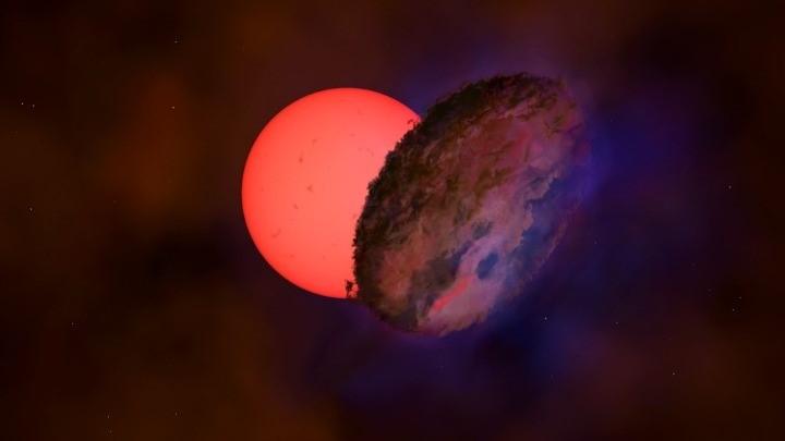 Ανακαλύφθηκε κοντά στο κέντρο του γαλαξία μας ένα γιγάντιο άστρο που «αναβοσβήνει»