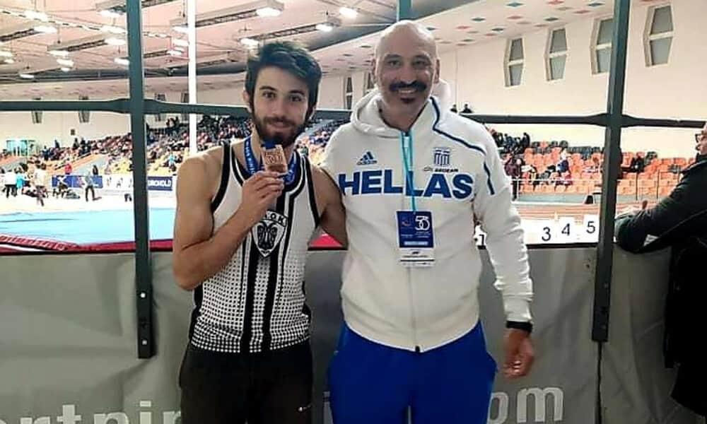 Χάλκινο μετάλλιο ο Θοδωρής Βροντινός στον τελικό των 100 μ.