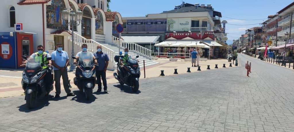 Καθημερινή η παρουσία της Δημοτικής Αστυνομίας