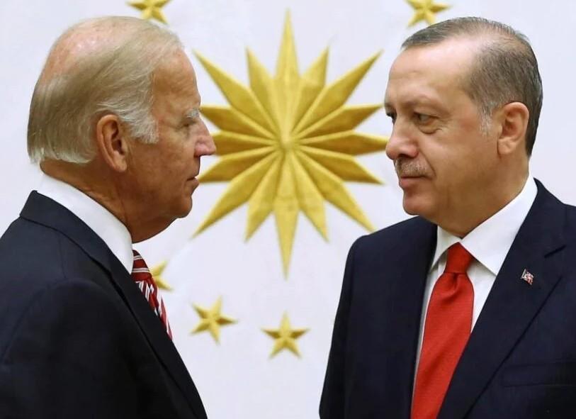 Λαβωμένος ο Ερντογάν στη συνάντηση με Μπάιντεν