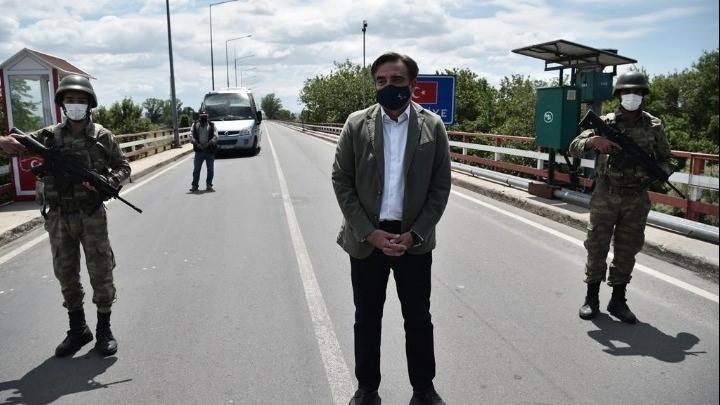 Μ. Σχοινάς: Το Σύνορο Στον 'Εβρο Είναι Ευρωπαϊκό, Που Θα Φυλάσσεται, Και Ένα Σύμβολο Των Ευρωπαϊκών Αξιών