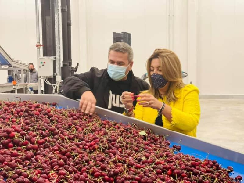 Μαρία Αντωνίου: Επίσκεψη στο πιο σύγχρονο ψυγείο