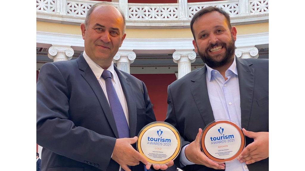 Ο Δήμος Δίου Ολύμπου τιμήθηκε στα Tourism Awards 2021