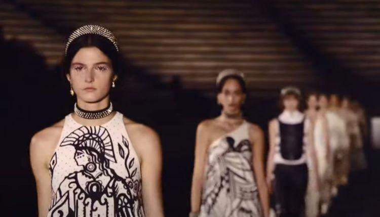 O Dior αποθέωσε την Ελλάδα σε ένα μαγευτικό Show στο Καλλιμάρμαρο