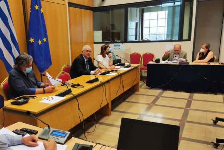 Ο Σ. Χιονίδης Για Την Αναπαλαίωση Κτιρίου Της Βουλής