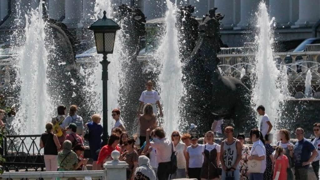 Ρεκόρ υψηλής θερμοκρασίας στη Μόσχα μετά από 142 χρόνια