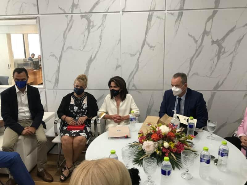 Στην Κατερίνη Και Το Λιτόχωρο Η Πρόεδρος Της Επιτροπής «Ελλάδα 2021» Γιάννα Αγγελοπούλου