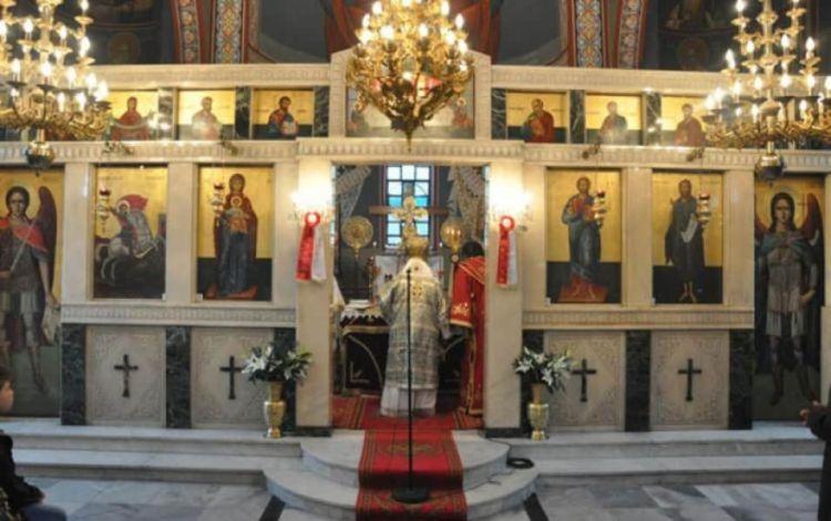 Θεια Λειτουργια Και Τελεση Πανδημου Ετησιου Μνημοσυνου Στην Ιερα Μονη Αγιου Γεωργιου Περιστερεωτα
