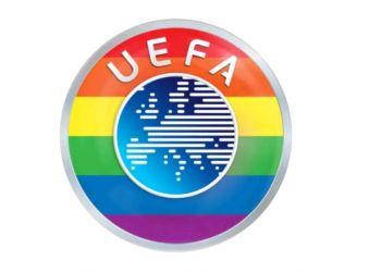 "Uefa: ""Έβαψε"" το σήμα στα χρώματα της ΛΟΑΤΚΙ+ κοινότητας"