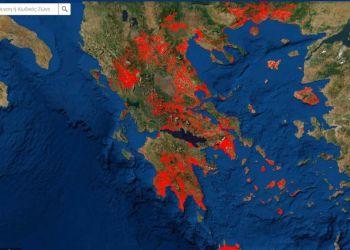 Άνοιξε Η E Πλατφόρμα: Εντοπίστε Εύκολα Την Τιμή Ζώνης Του Ακίνητου Σας Μέσω Δορυφορικού Χάρτη