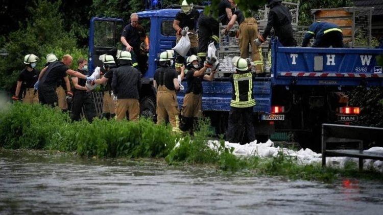 Εννέα Νεκροί, Περισσότεροι Από 70 Αγνοούμενοι Από Τις Πλημμύρες Στη Γερμανία