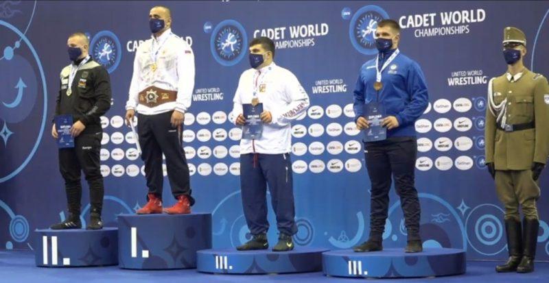 Θερμά τους συγχαρητήρια στον αθλητή του ΓΑΣ Ολύμπιοι, Ραφαήλ Γκίρνη
