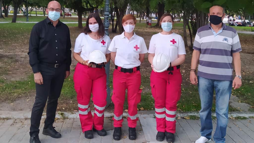 Θερμές του ευχαριστίες στην εταιρία Pieria Fire για την ευγενική χορηγία κρανών προστασίας