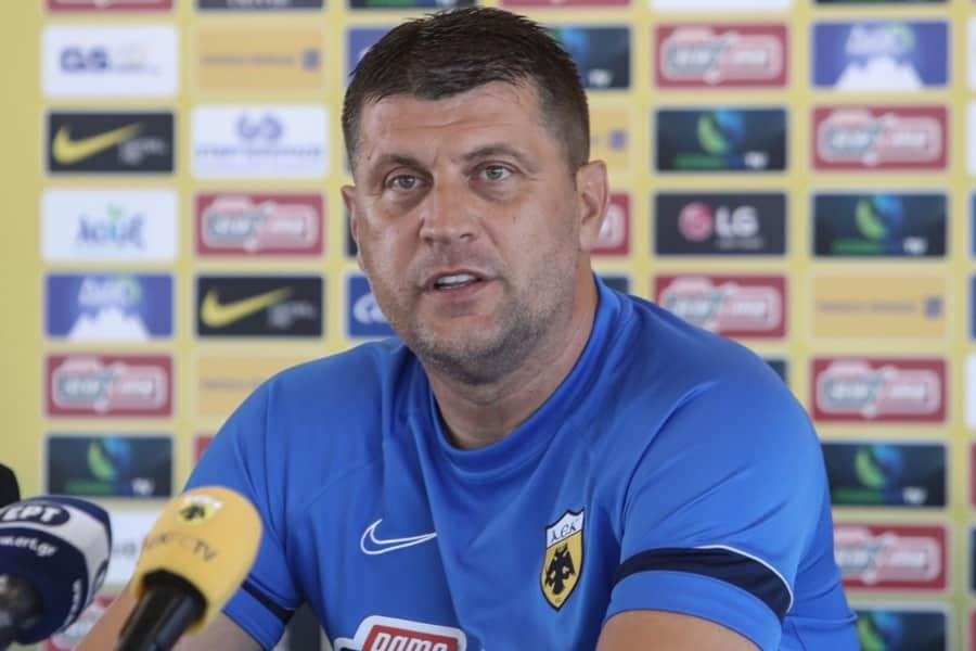 """Μιλόγεβιτς: """"Θα παρουσιάσουμε διαφορετικό πρόσωπο"""""""