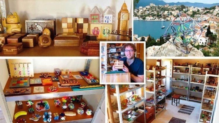 Μουσείο Γρίφων στο Καστελλόριζο, μια «κατάθεση ψυχής» του δημιουργού του Πανταζή Χούλη