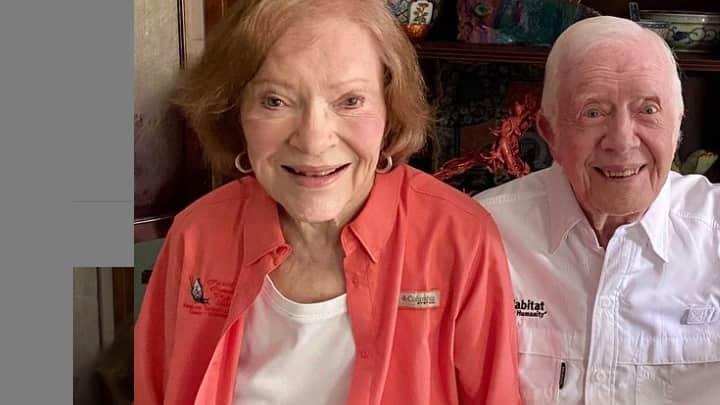 Ο Τζίμυ Και Η Ρόζαλιν Κάρτερ Γιορτάζουν 75 Χρόνια Γάμου