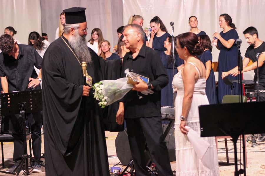 Ο δεσπότης μας Γεώργιος με τους ιερείς…