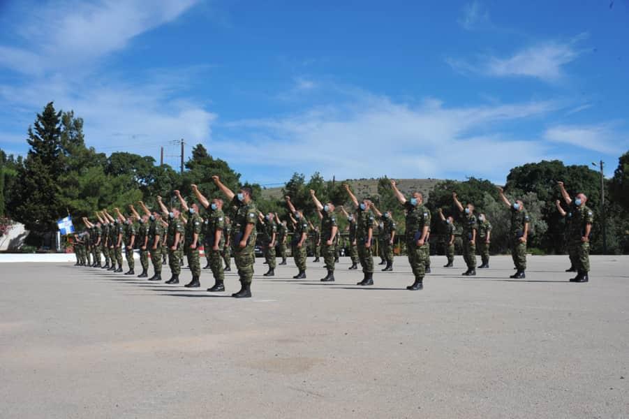 Τελετή ορκωμοσίας των Oπλιτών Θητείας της 2021 Δ΄ ΕΣΣΟ