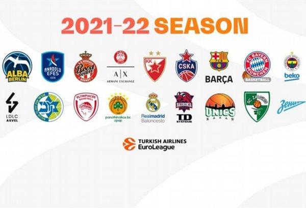 Το πλήρες πρόγραμμα της Euroleague 2021 2022