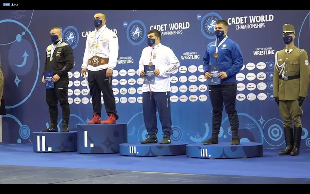 Τρίτος στον κόσμο ο Ραφαήλ Γκίρνης των Ολύμπιων Κατερίνης