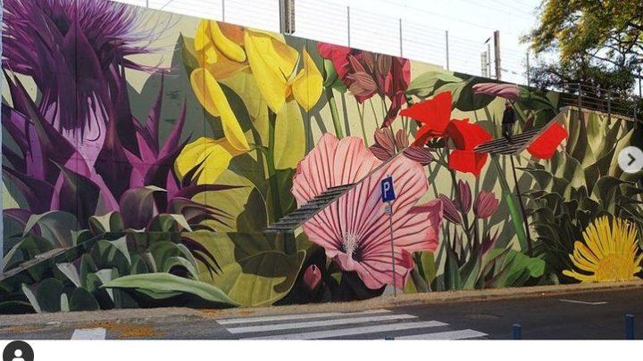 Τροπική βλάστηση, στις τοιχογραφίες του Thiago Mazza
