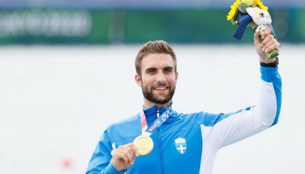 Χρυσός ολυμπιονίκης στο μονό σκιφ ο Στέφανος Ντούσκος με νέο ολυμπιακό ρεκόρ!
