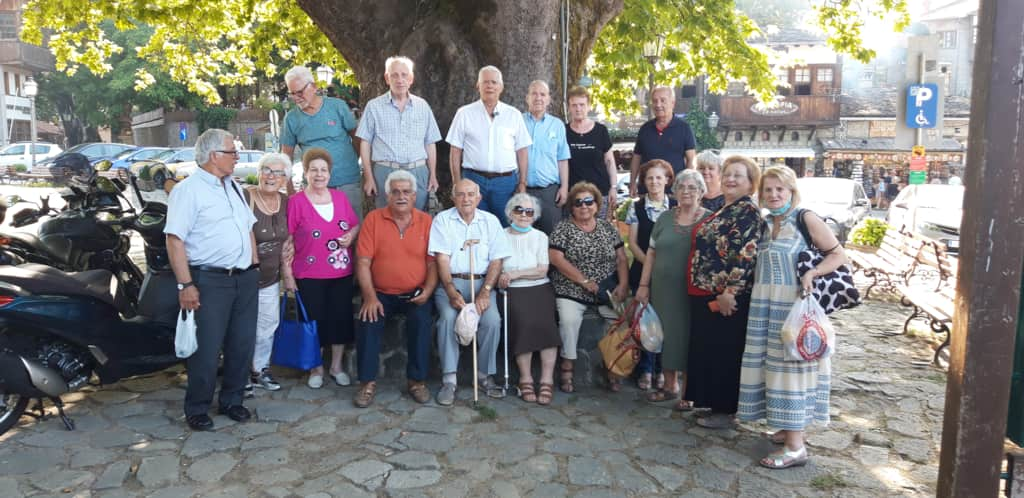Οι Συνταξιούχοι Έμποροι Κατερίνης σε Γιάννινα και Μέτσοβο