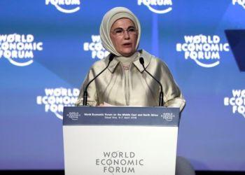 Απίστευτη «Προτροπή» Της Συζύγου Του Ερντογάν Στους Πολίτες
